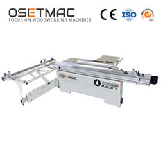 Industrial Woodworking Sliding Table Saw Cut Wood